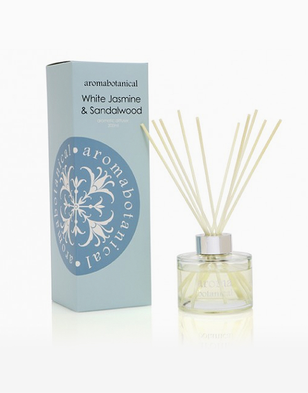 Reed Diffuser by Aromabotanical Philippines | White Jasmine and Sandalwood