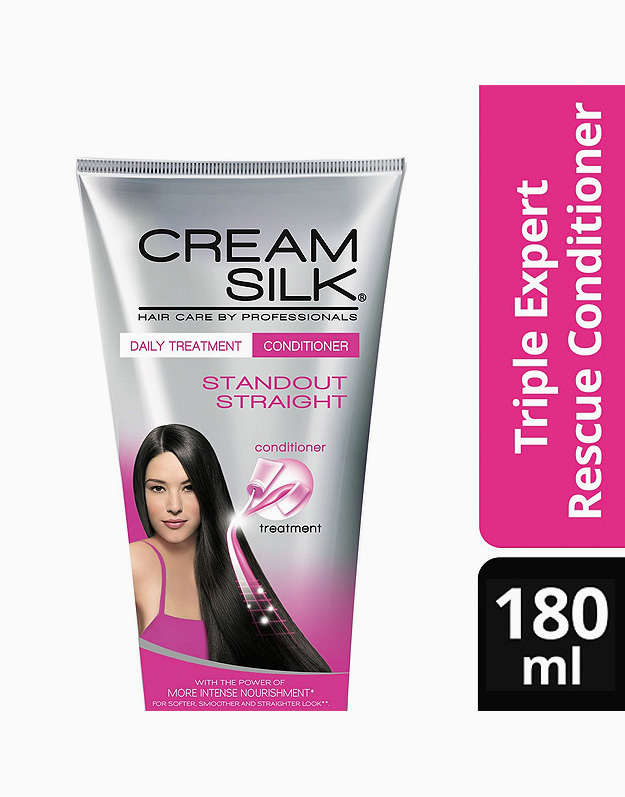 Cream Silk Daily Treatment Conditioner Standout Straight 180ml by Cream Silk
