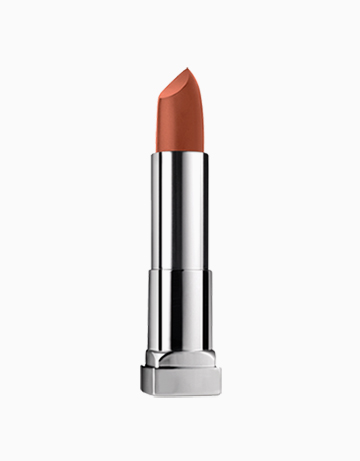 ColorSensational Creamy Matte Brown Nude Lipstick by Maybelline | CLAY CRUSH