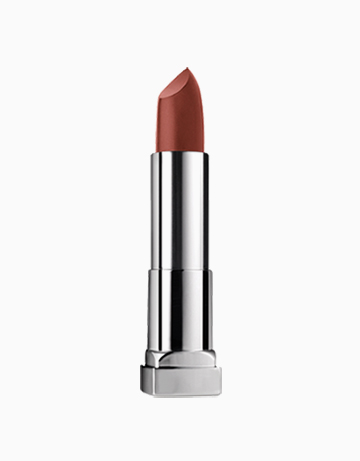 ColorSensational Creamy Matte Brown Nude Lipstick by Maybelline   NUDE NUANCE