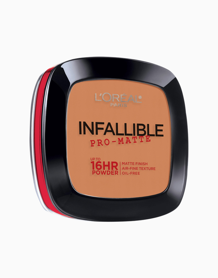 Infallible Pro-Matte 16HR Pressed Powder by L'Oréal Paris | 600 Golden Beige
