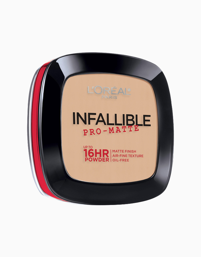 Infallible Pro-Matte 16HR Pressed Powder by L'Oréal Paris | 100 Porcelain