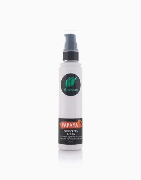 Papaya Sunscreen SPF50 by Zenutrients