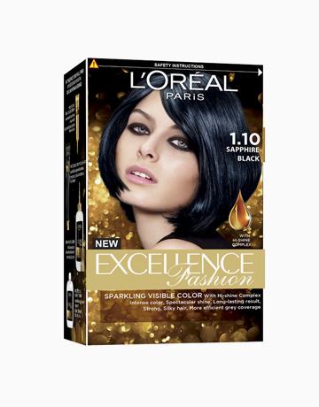 L'Oreal Paris Excellence Fashion by L'Oréal Paris    No.1.10 Sapphire Black