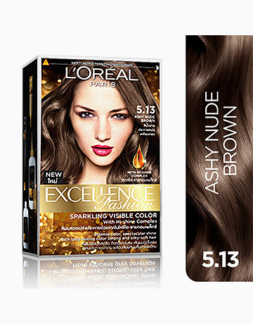 L'Oreal Paris Excellence Fashion by L'Oréal Paris   No.5.13 Ashy Nude Brown