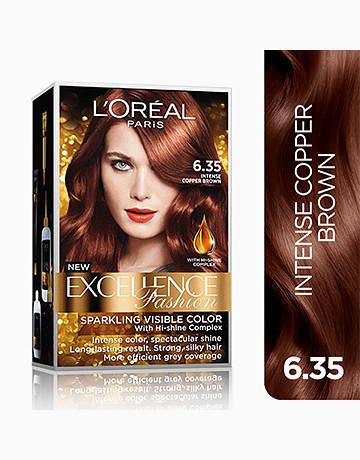 L'Oreal Paris Excellence Fashion by L'Oréal Paris   No.6.35 Intense Copper Brown