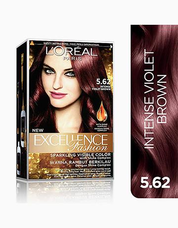L'Oreal Paris Excellence Fashion by L'Oréal Paris   No.5.62 Intense Violet Brown
