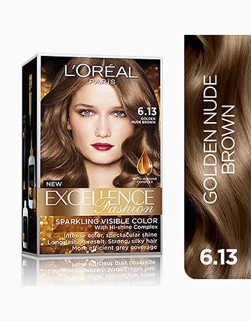L'Oreal Paris Excellence Fashion by L'Oréal Paris   No.6.13 Golden Nude Brown