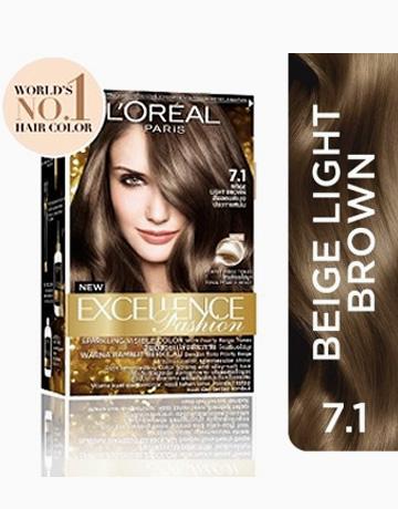 L'Oreal Paris Excellence Fashion by L'Oréal Paris   7.1 Beige Light Brown