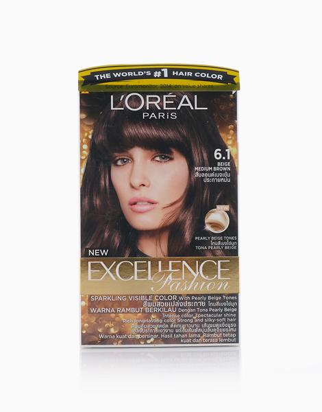 L'Oreal Paris Excellence Fashion by L'Oréal Paris   6.1 Beige Medium Brown