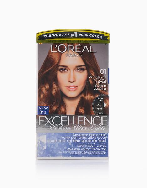 L'Oreal Paris Excellence Fashion by L'Oréal Paris   01 Natural Brown