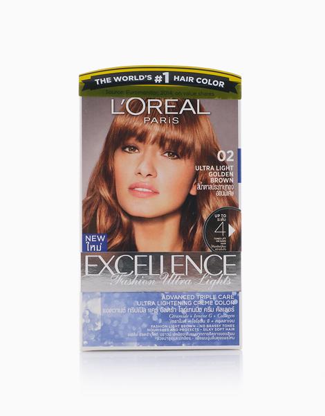 L'Oreal Paris Excellence Fashion by L'Oréal Paris    02 Golden Brown