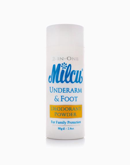 2 in 1 Deodorant Powder (80g) by Milcu