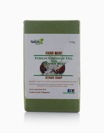 Coconut Meat Scrub Soap by Next2Nature