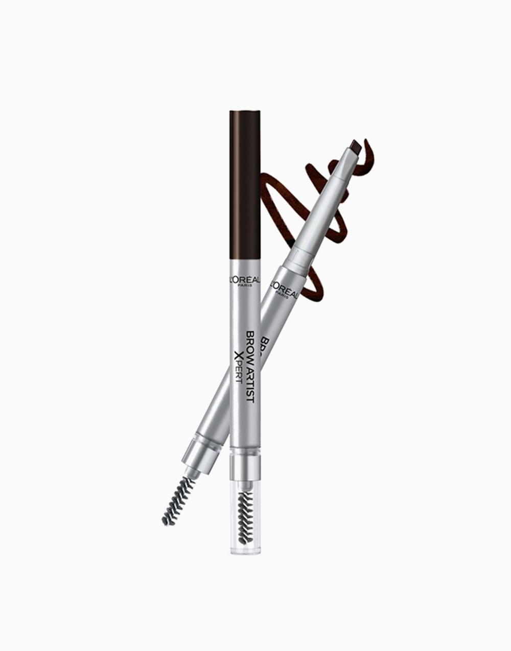 Brow Artist Xpert 2-in-1 Brow Pencil by L'Oréal Paris   109 Ebony