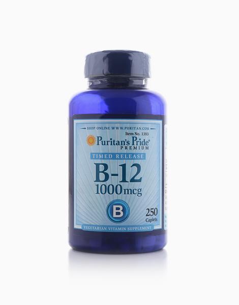 Vitamin B-12 1000 mcg Timed Release (250 Caplets) by Puritan's Pride