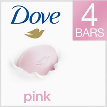 Pink Beauty Bar (4 Bars) by Dove
