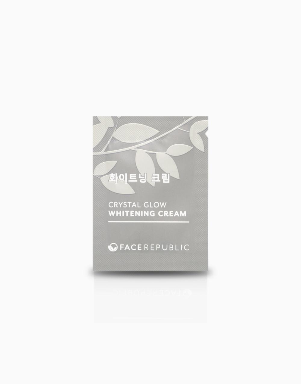 Crystal Glow Whitening Cream 2mL by Face Republic