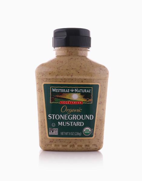 Organic Stoneground Mustard (8oz) by Westbrae