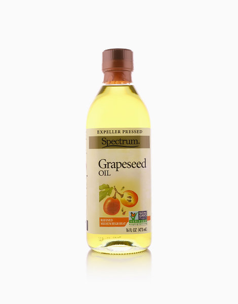 Organic Grapeseed Oil (16oz) by Spectrum