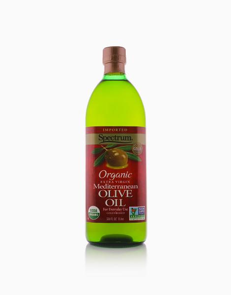 Organic Extra Virgin Mediterranean Olive Oil (33.8oz) by Spectrum