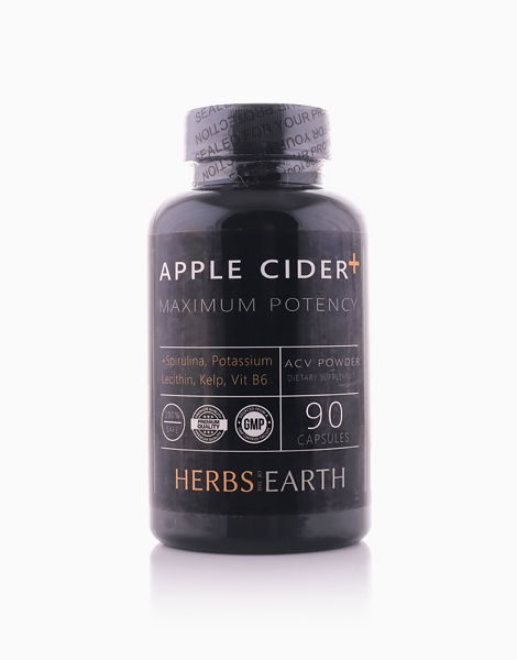 Apple Cider Vinegar with Spirulina, Potassium, Lecithin, Kelp by Herbs of the Earth