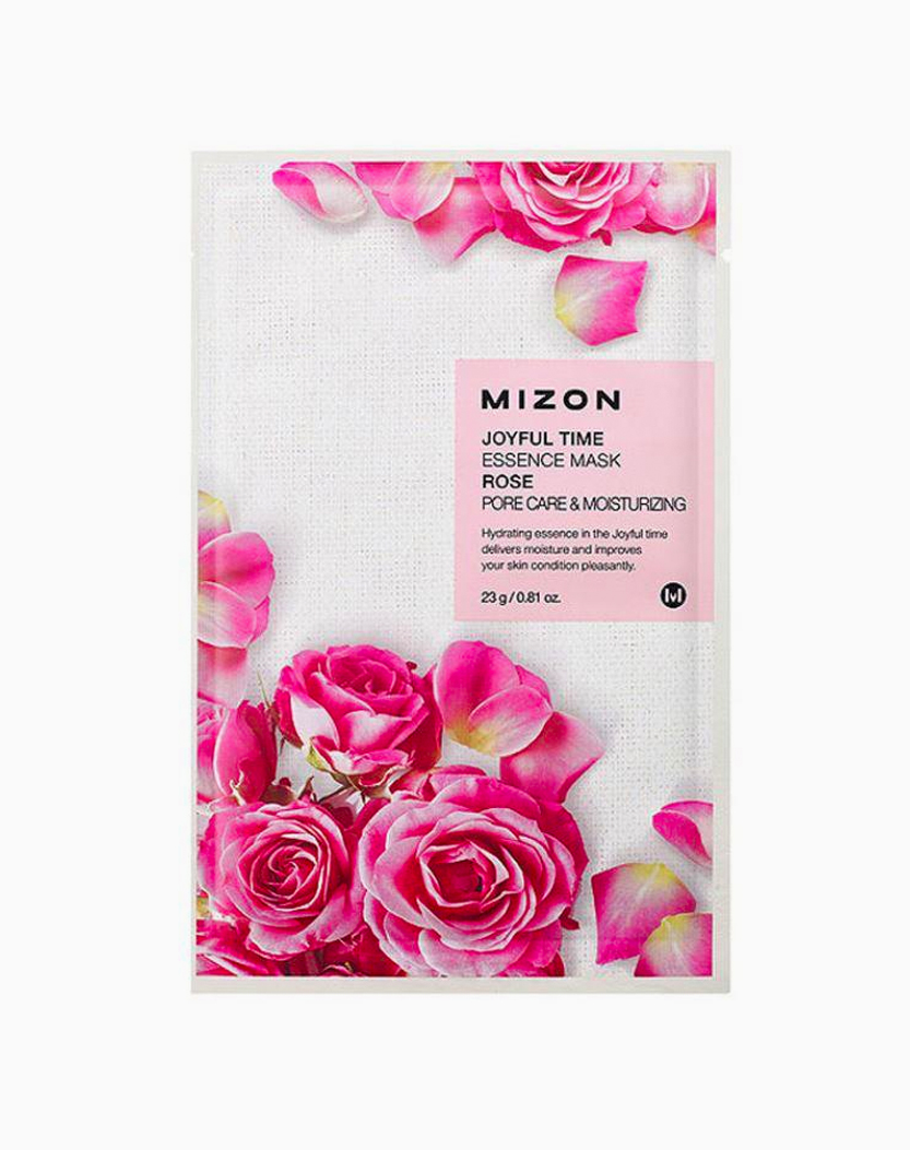 Joyful Time Essence Mask (Rose) by Mizon