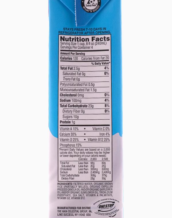 Original Enriched Rice Drink (Organic) (32oz) by Dream