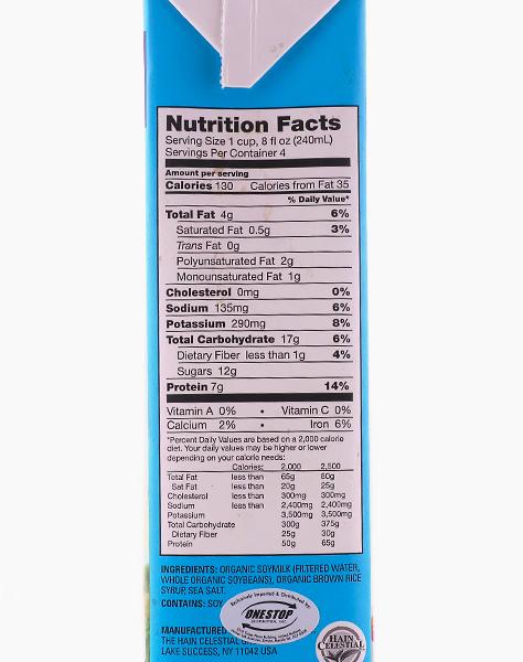Organic Original Soy Milk (32oz) by Westsoy