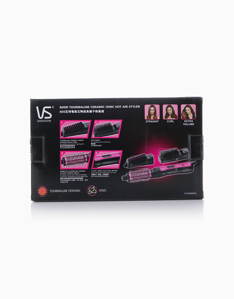 iPink 800w 3-in-1 Ionic Hot Air Styler by Vidal Sassoon