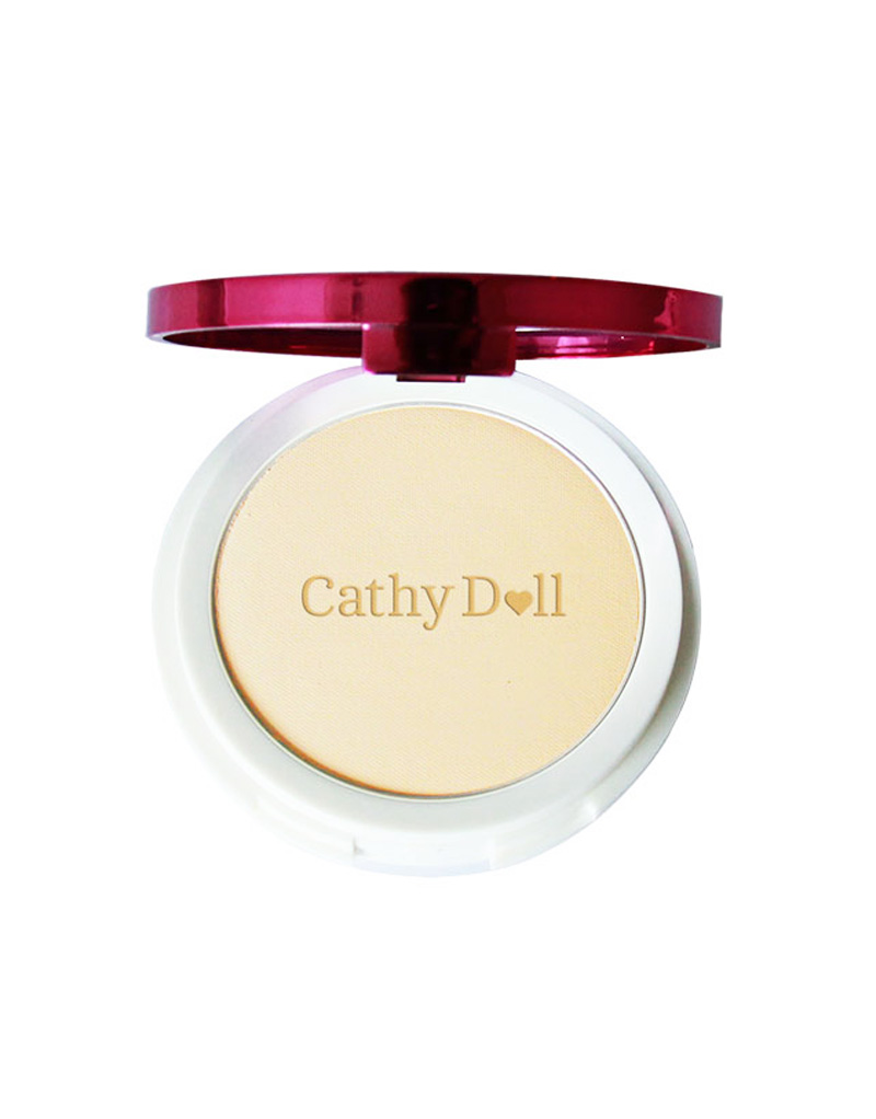 Speed White CC Powder Pact SPF 40 PA+++ by Cathy Doll | Natural Beige
