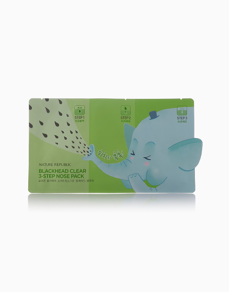 3 Step Nose Pack Sheet by Nature Republic