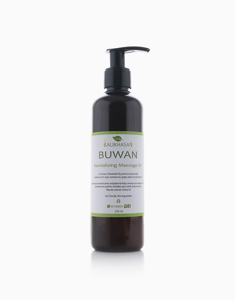 Buwan Massage Oil (250ml) by Kalikhasan Eco-Friendly Solutions