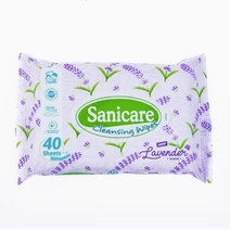 Sanicare lavender wipes 40s