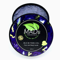 Blue Butterfly Pea Scrub by MADs Essentials