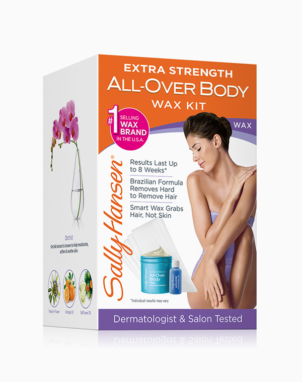 Extra Strength All-Over Body Wax Hair Removal Kit by Sally Hansen®
