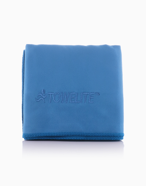 Sports Towel (18 x 36in) by Towelite   Blue