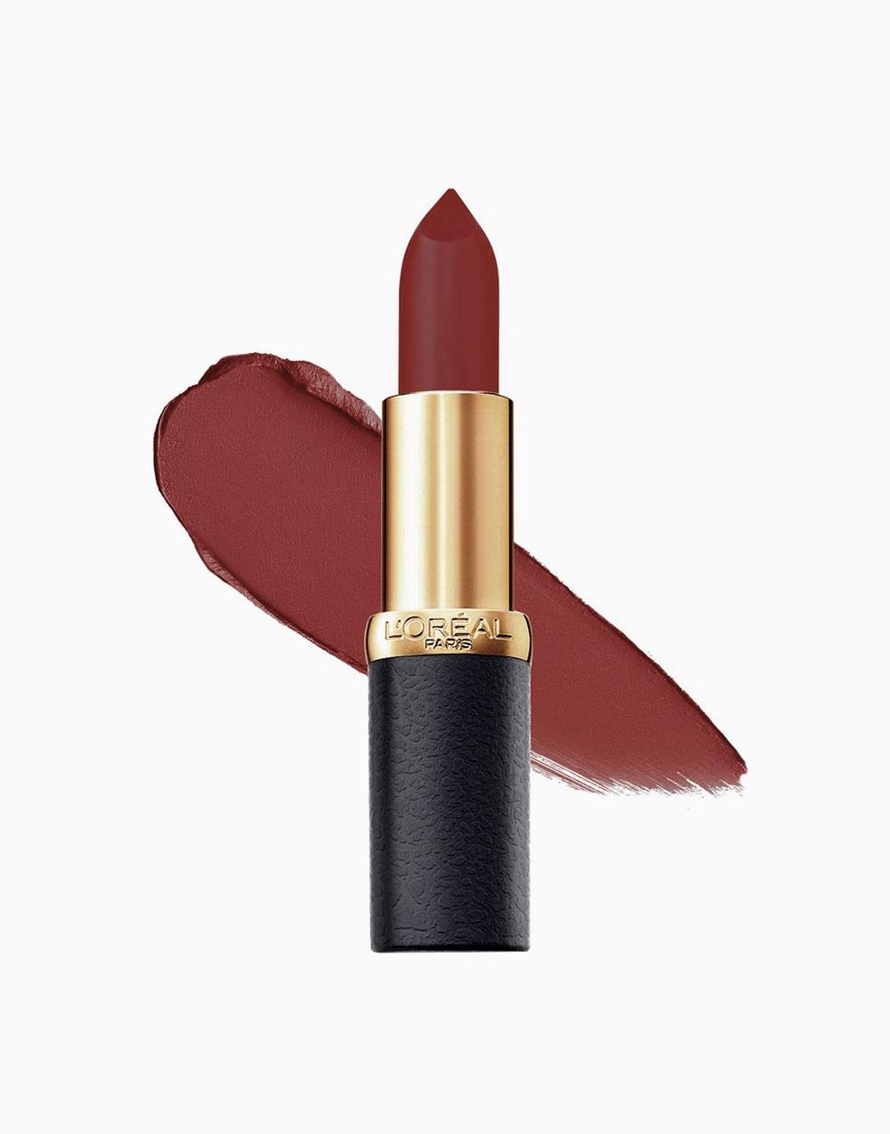 Color Riche Mattes by L'Oréal Paris | Blaze of Red
