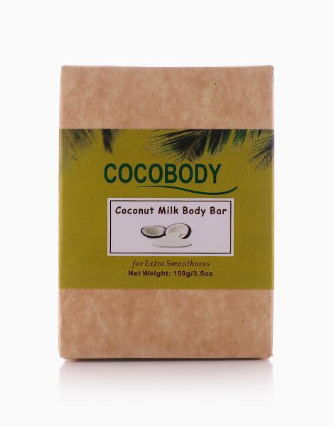 Virgin Coconut Body Bar Soap Coconut Milk (150g) by Cocobody
