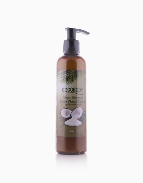 Virgin Coconut Body Wash Cream by Cocobody
