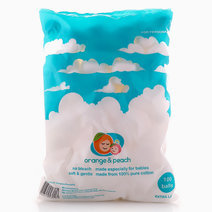 XL Baby Cotton Balls by Orange and Peach
