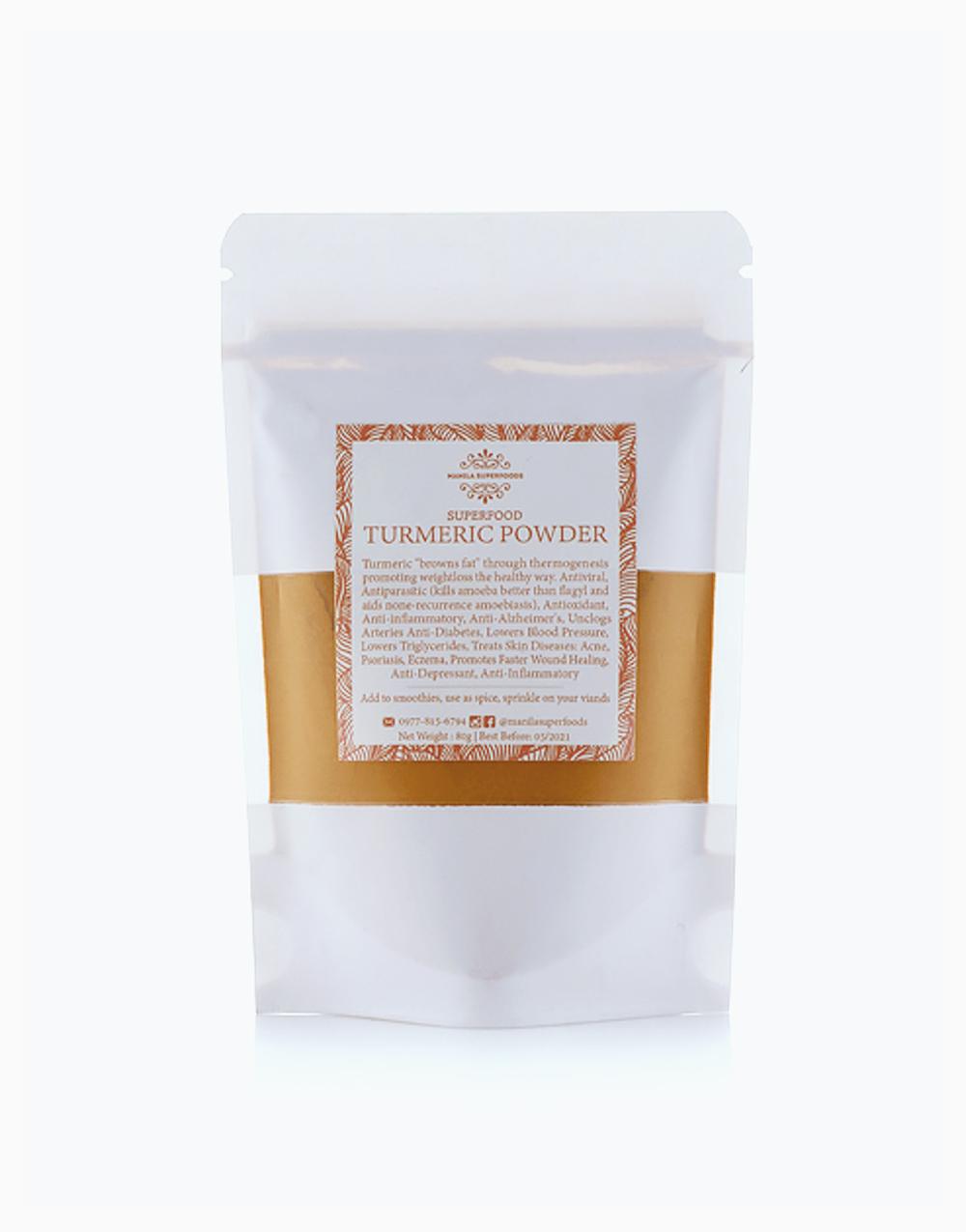 Organic Pure Turmeric Powder (80g) by Manila Superfoods