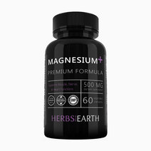 Pure Magnesium Oxide and Citrate Capsules (60 Vegetarian Capsules) by Herbs of the Earth