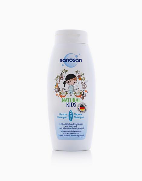 2 in 1 Shower & Shampoo For Boys (250ml) by Sanosan