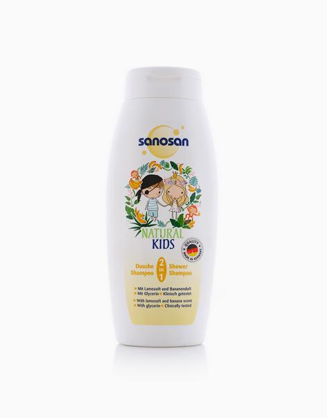 Kids Shower & Shampoo (250ml) by Sanosan | Banana