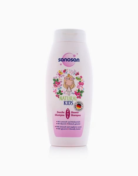 Kids Shower & Shampoo (250ml) by Sanosan | Raspberry