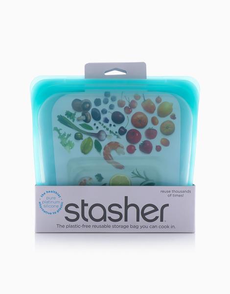Stasher Bag Sandwich by Stasher | Aqua