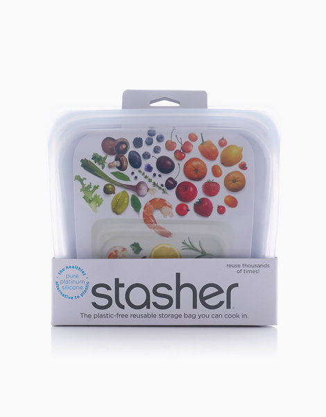 Stasher Bag Sandwich by Stasher | Clear