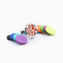 Essential Oil Car Diffuser Clip by Feet and Right