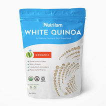 Nutrifam Organic White Quinoa (500g) by Nutrifam